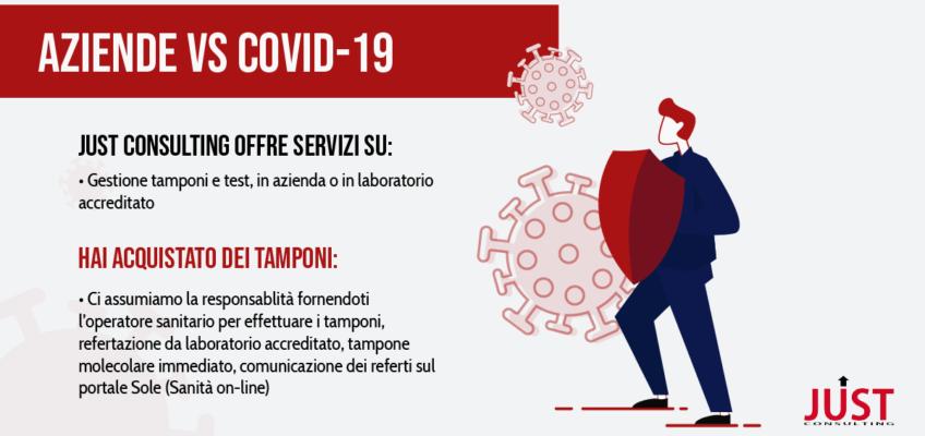 Tampone Covid aziende