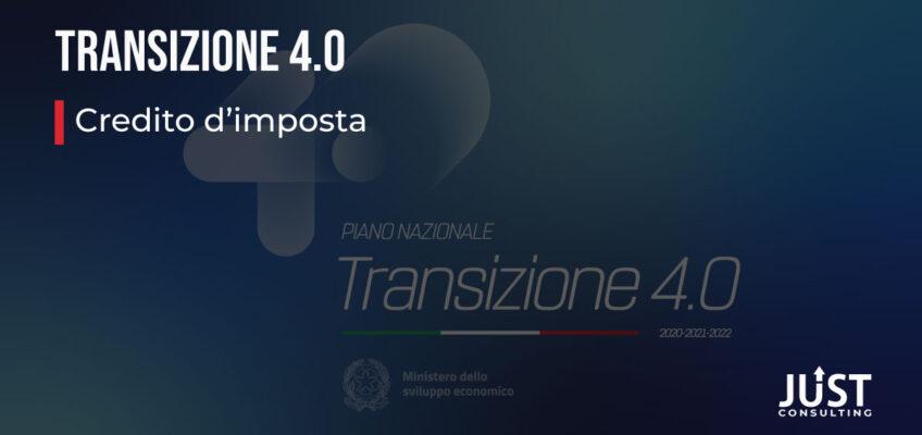 Credito d'imposta: Transizione digitale, Industria 4.0