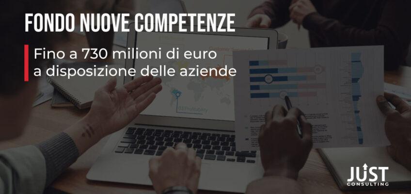Fondo Nuove Competenze, decreto ristori, ANPAL, covid-19, contributi alle aziende