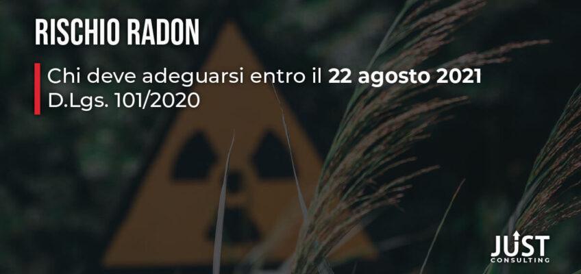 Rischio Radon, D.Lgs. 101/2020, obblighi, ambiente e sicurezza