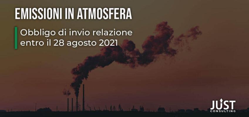 Emilia-Romagna: emissioni in atmosfera e obbligo entro agosto