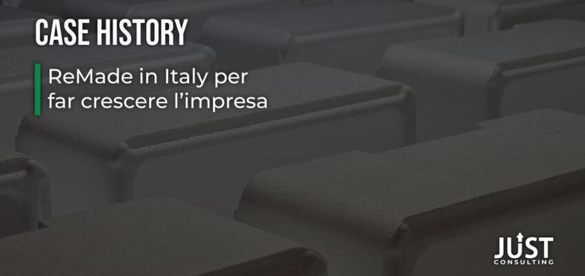 ReMade in Italy, certificazione riciclato, prodotti economia circolare