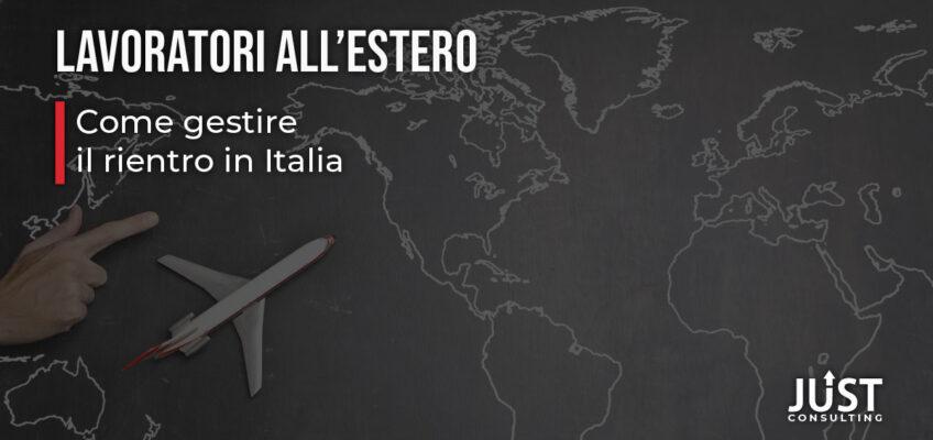 Covid-19 e lavoratori all'estero: il rientro in Italia